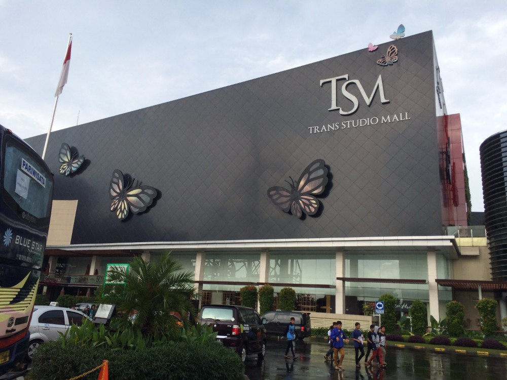 things to do in Bandung trans studio mall